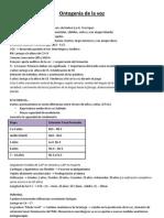Ontogenia de La Voz y Tto Poblaciones Especificas