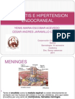 Meningitis e Hipertencion Endocraneal