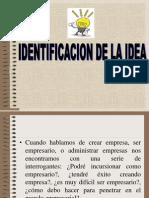 Identificacion de La Idea Rafa
