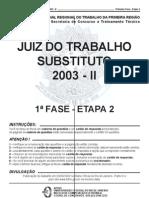 Trt 1re Obj Prov2 2003ii
