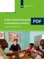Iob Study No 378 Public Private Partnerships in Developing Countries