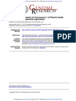 2007-Sequencing and Analysis of Chromosome 1 of Eimeria