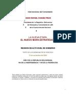 Chavez y Nuevo Mapa Estrategico - Revolucion Bolivariana - Politicas