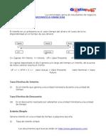 Conceptos de Matematicas Financieras