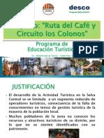 EDUCACIÓN Y TURISMO- CAPACITACION1