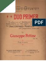 [Mandolin Sheet] Duo Primer
