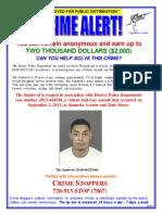 Tilo Sandoval (Crime Stoppers)