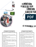 Diptico Programa Evento
