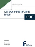 Car Ownership in Great Britain - Leibling - 171008 - Report