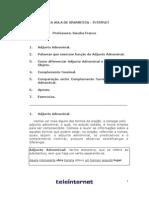 Gramática - Aula 05 - Adjunto Adnominal