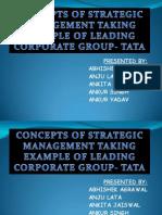 strategic management with eg.