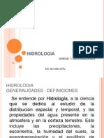 Hidrologia Unidad1 Generalidades 121024101658 Phpapp02