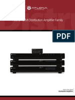 Atlona HDMI Distribution Amplifier Family