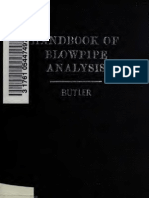 Butler Pocket Handbook of Blowpipe Analysis