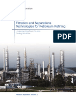 Filtration and Separations Technologies for Petroleum Refining
