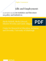 disability skills and  employment