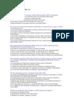 Exercícios e Gabaritos de História do Brasil - 3