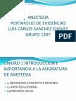 Historia de La Anestesia Local y General
