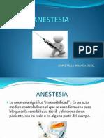 Unidad 1 Anestesia