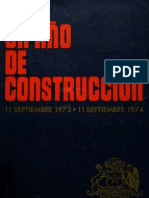 Mensaje Presidencial 11.09.1974 (Augusto Pinochet Ugarte)