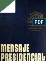 Mensaje Presidencial 11.09.1975 (Augusto Pinochet Ugarte)