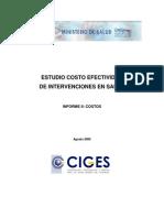 02informe II Costos de Las Intervenciones