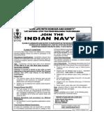 Indian Navy - Sailor Entry Recruitment Drive at Mumbai