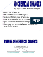 Energy and Chemical Changes Powerpoint SPM