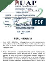 Trabajo Peru Bolivia.