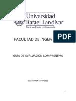 Guía de Evaluación Comprensiva - Facultad de Ingeniería 2012 INFORMATICA