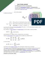 Levi Civita Notation