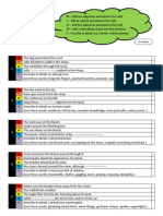 A Sentence a Day Task Sheets for low achievers