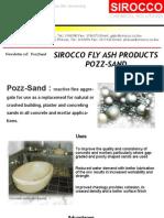 Fly Ash - Pozz Sand