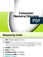 09. Memory, Storage (RAM, Cache, HDD, ODD, SSD, Flashdrives)