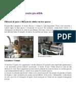 Laboratório de separação gás-sólido