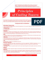 Cooling Tower Principles