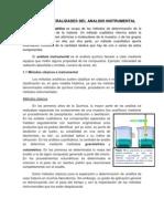 Unidad 1 Generalidades Del Analisis Instrumental