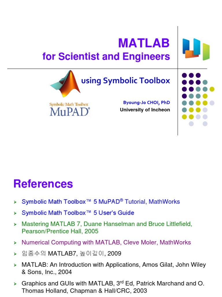 Ch 1 Brief Overview Of Matlab Matlab Analysis