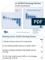 Banking Sector 1H2013 Earnings Review__ - Net Earnings Dip Despite Robust Core Profit Growth - 09 Sep 2013