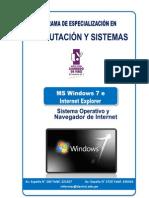 Windows Seven e Internet