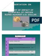 Dollar Fall vs Rupees PDF