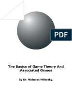 The Basics of Game Theory And Associated Games