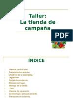 Taller_La tienda de campaña