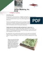 Solid Terrain Modeling, Inc.- Case Study - Firefighter Training