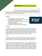 Desarrollo de Contenidos- La función policial y los derechos humanos