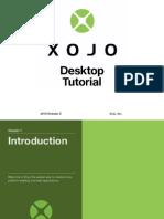 Xojo Desktop App Tutorial