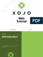 Xojo Web Application Tutorial