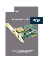 ATI Tvw750pcie User Guide