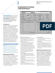 Automated System for Educational Training on Punching Process Characterization