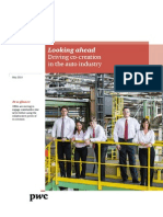 Pwc Looking Ahead Driving Co Creation in the Auto Industry PDF